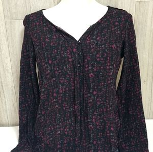 Eddie Bauer Button Up Long Sleeve Blouse